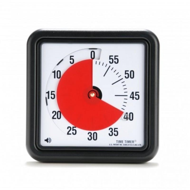 Træn tidsforståelsen med et visuelt ur