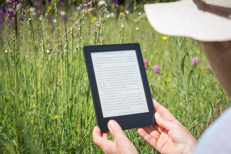 Tag dit eget bibliotek med på farten i form af en Kindle